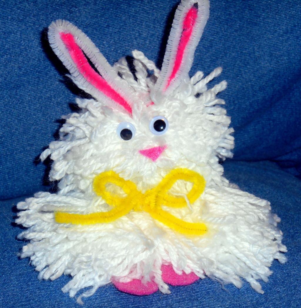 Super Cute DIY Easter Bunny