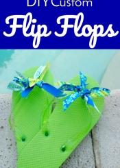 DIY Custom Flip Flops