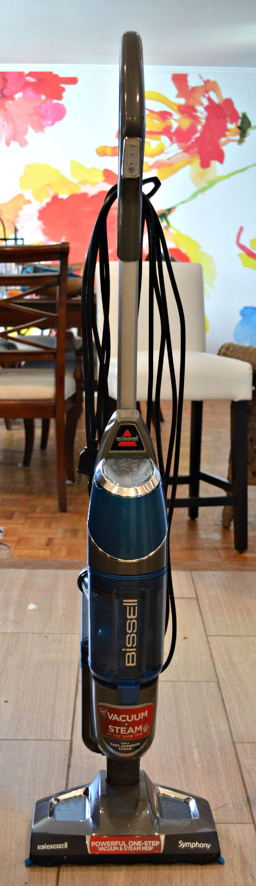 Bissell Symphony Bagless Vacuum and Steam Mop