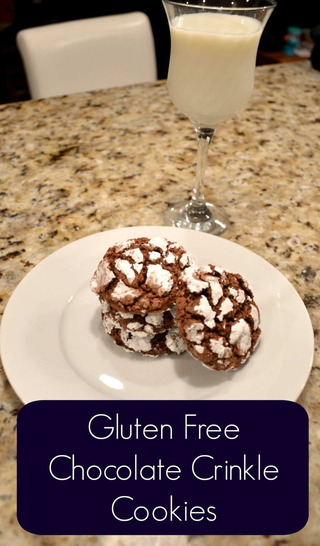 What I Made This Week – Gluten Free Chocolate Crinkle Cookies