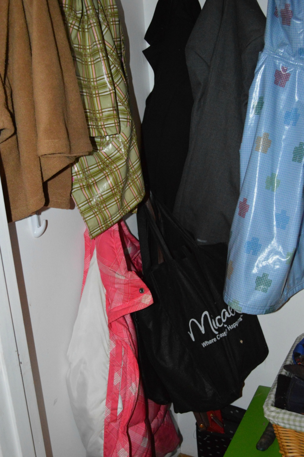 #write31days – Organize the Hall Closet & Winter Coat Shopping