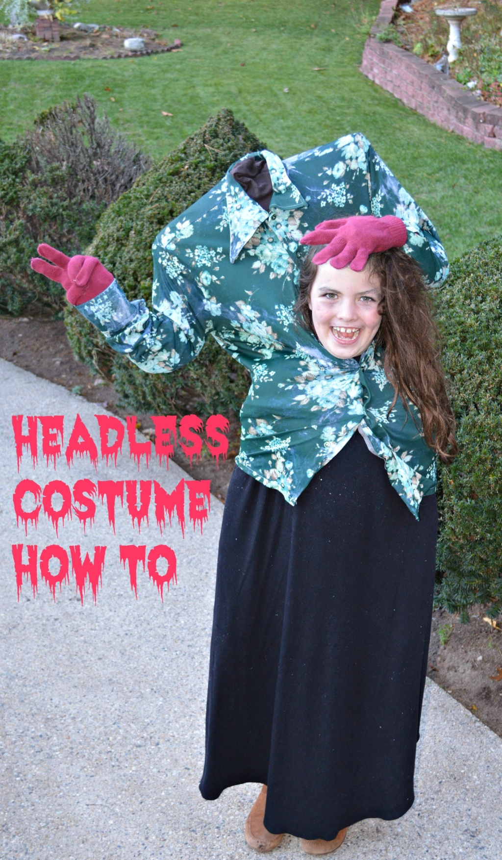 #write31days – Headless Costume How To