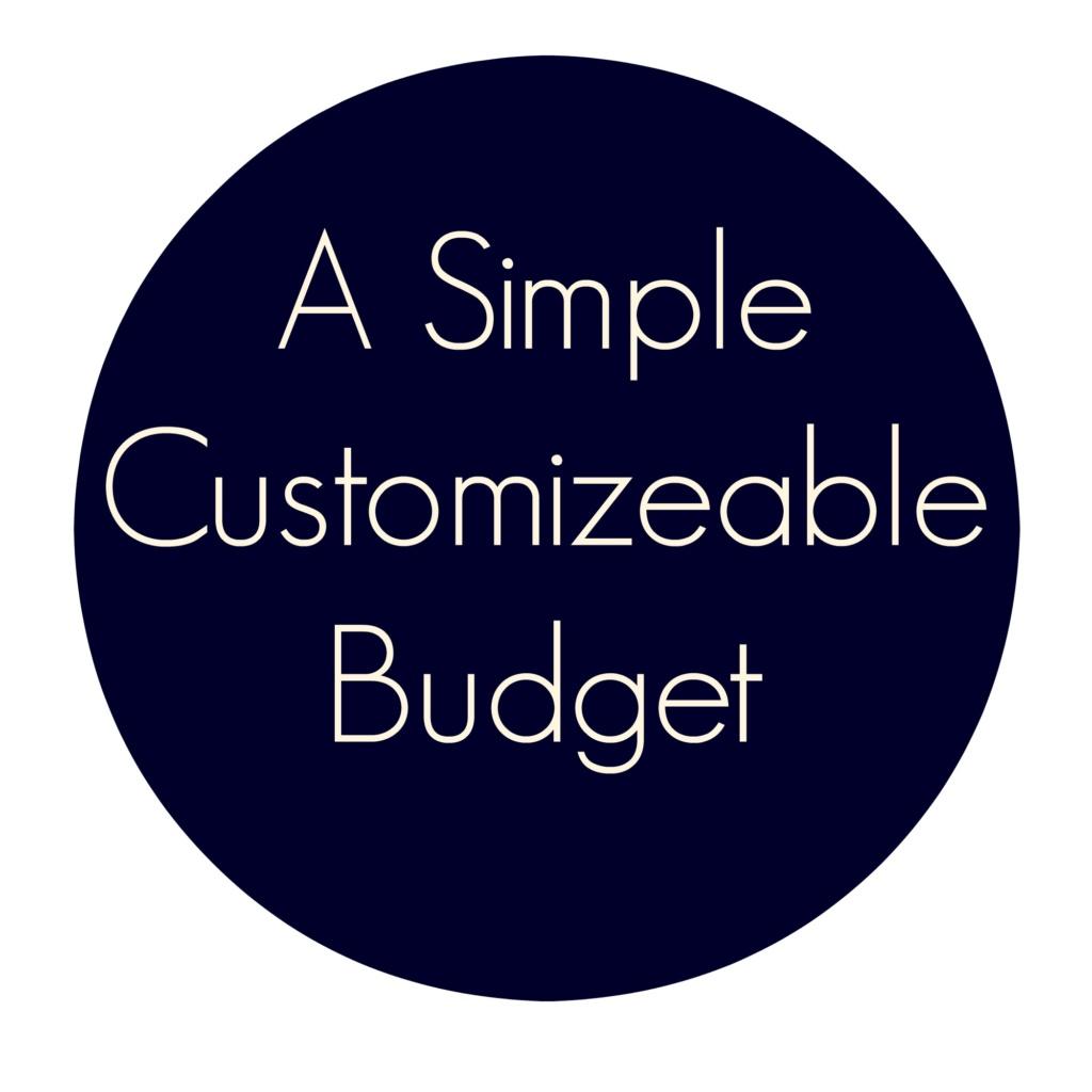 #write31days – Organize Your Budget