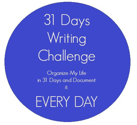 The Write Thirty One Days Challenge