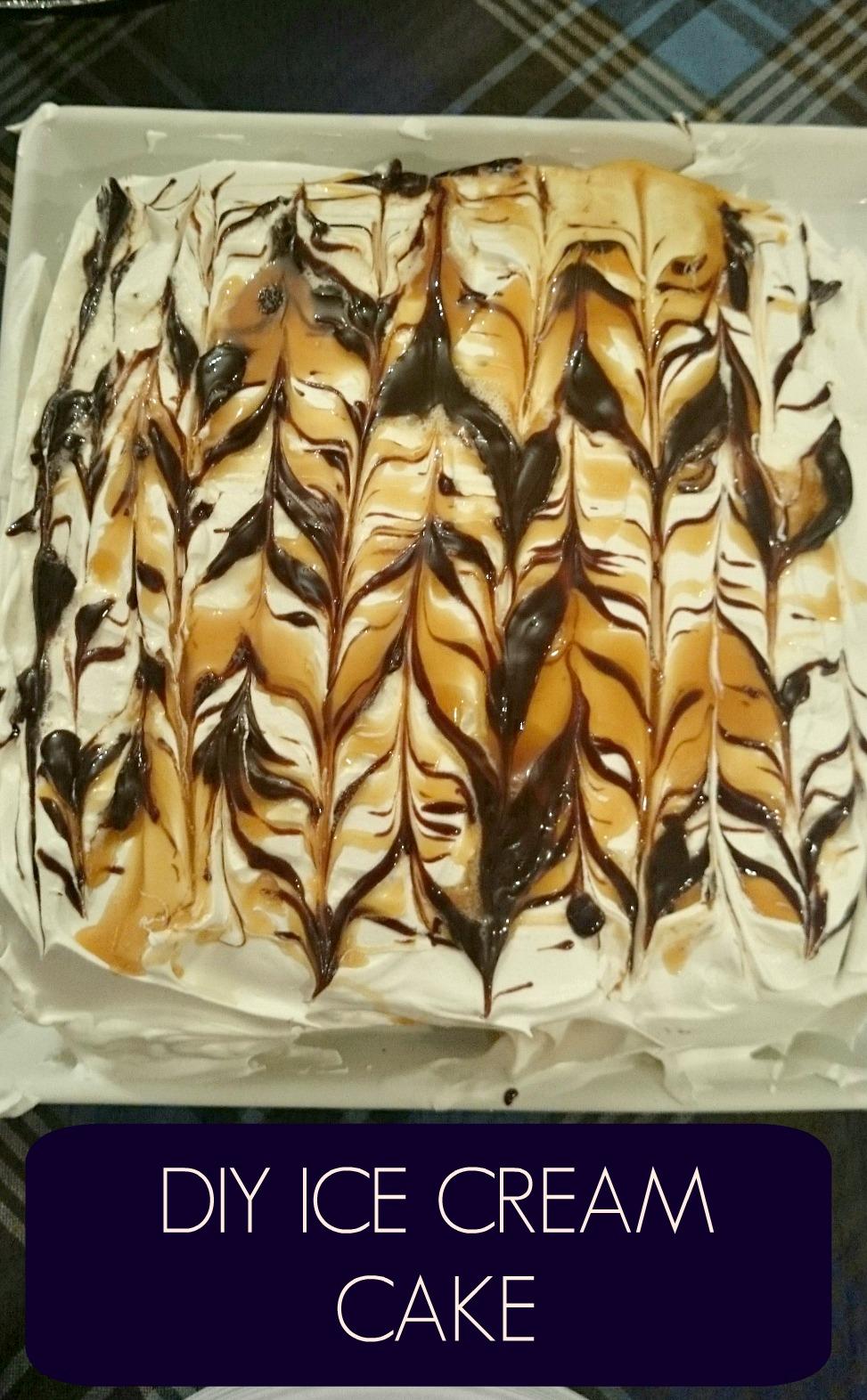 What I Made This Week – DIY Ice Cream Cake