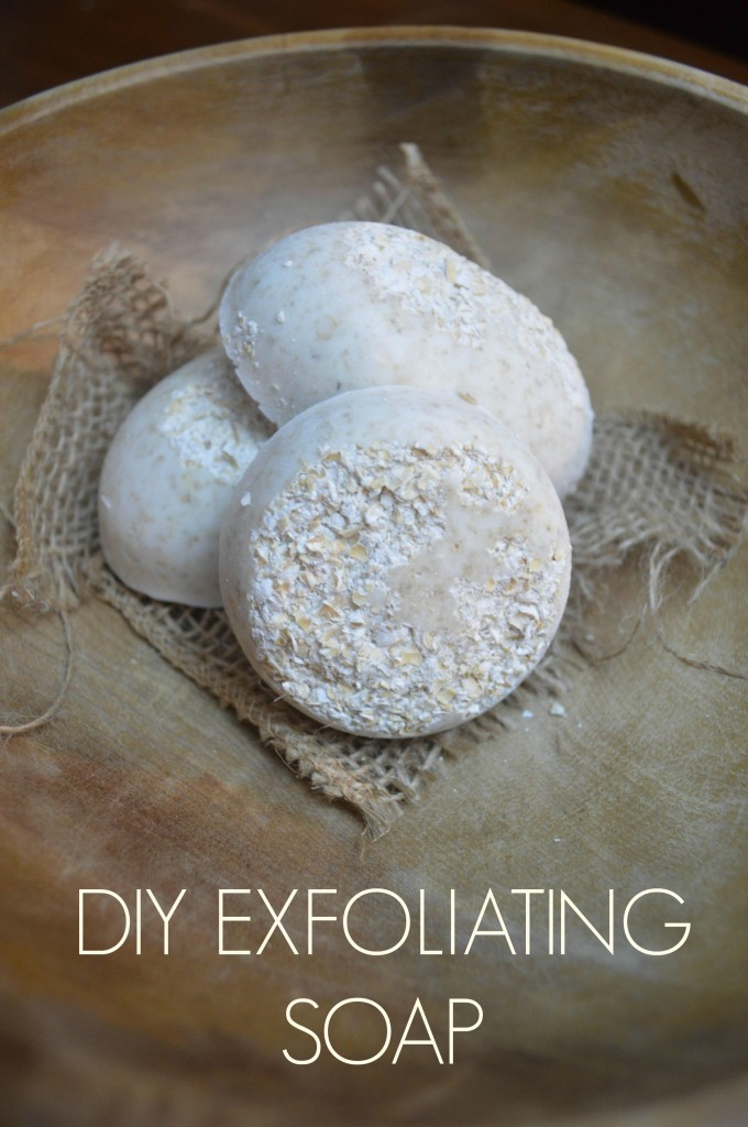 A so simple craft: You can make this luxurious exfoliating soap!