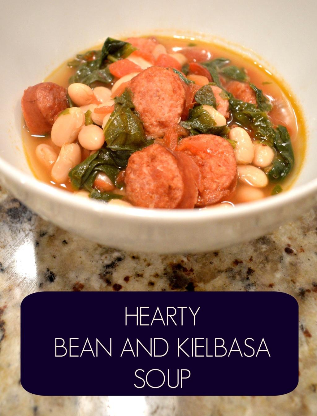 Hearty Bean and Kielbasa Soup