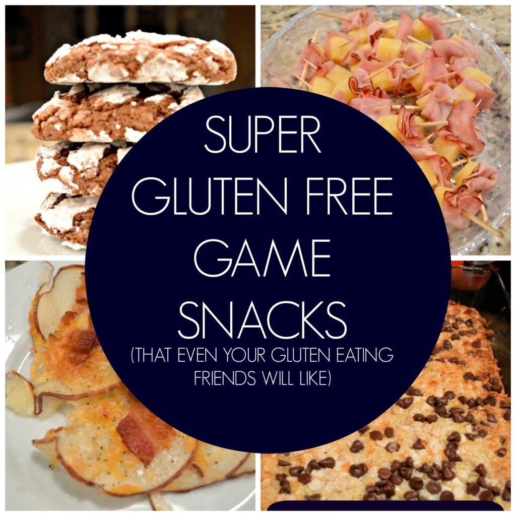 Super Gluten Free Game Snacks