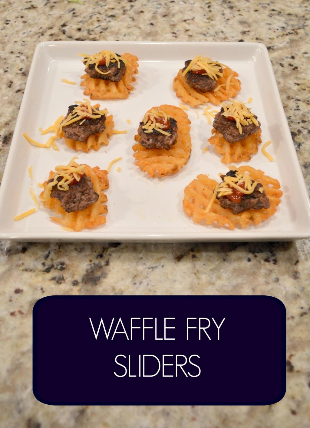 Waffle Fry Sliders – Gluten Free