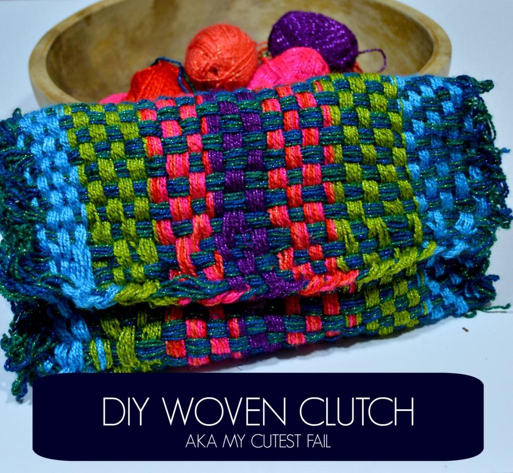 DIY Woven Clutch