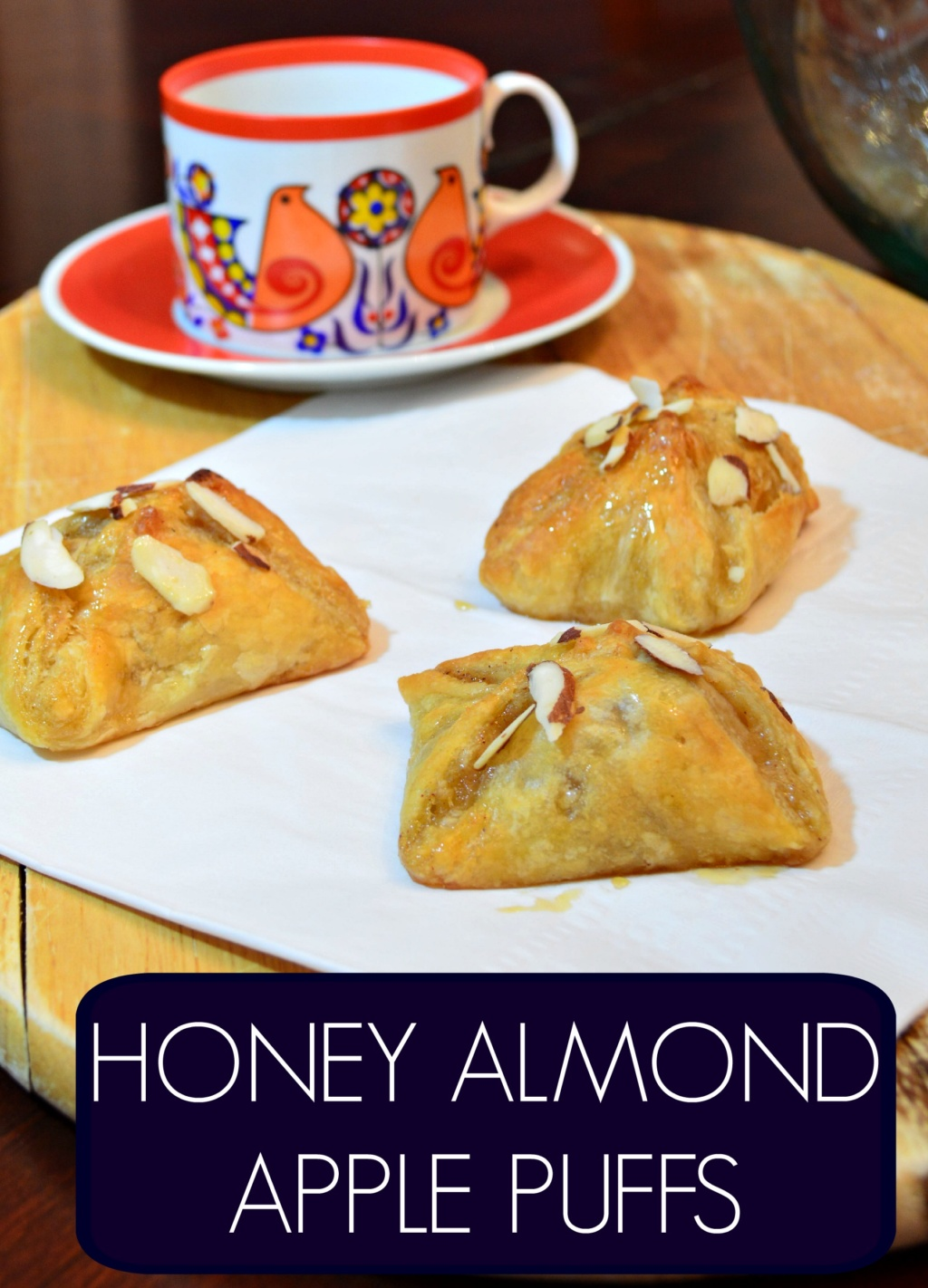 Retro Recipe – Honey Almond Apple Puffs