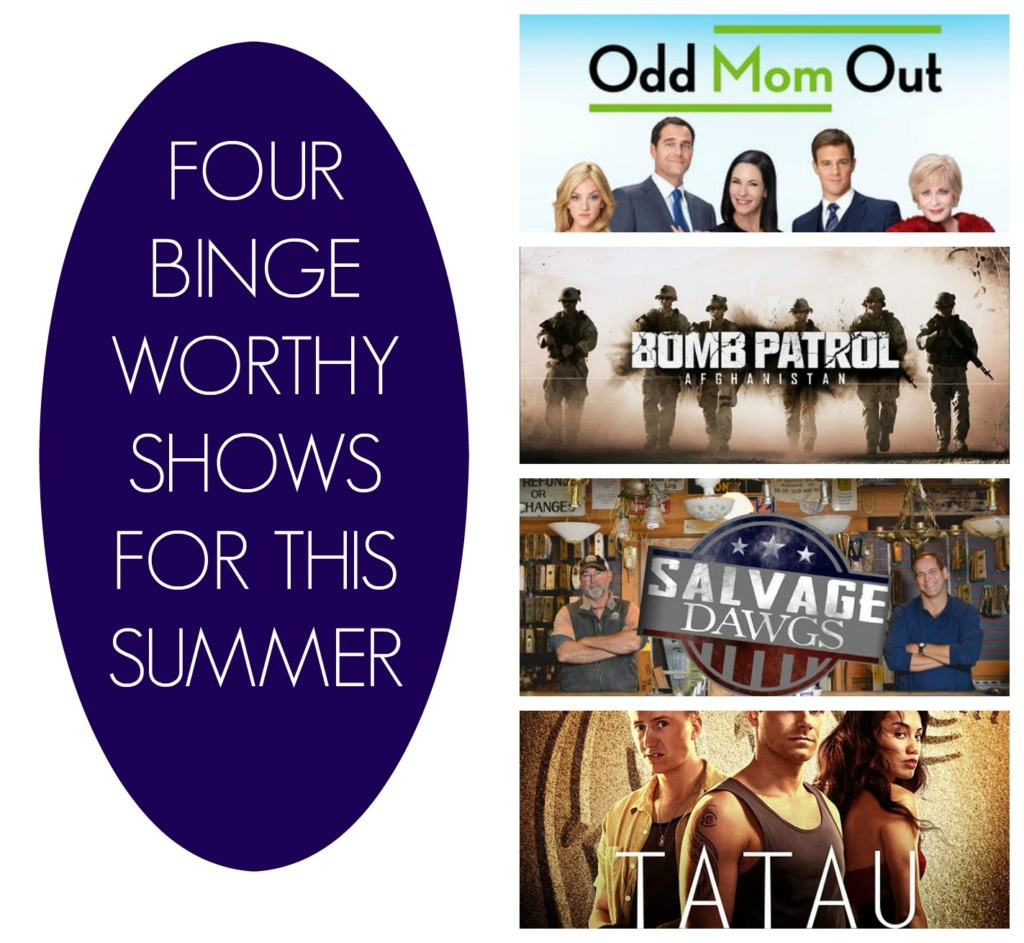Four Binge Worthy Shows for this Summer