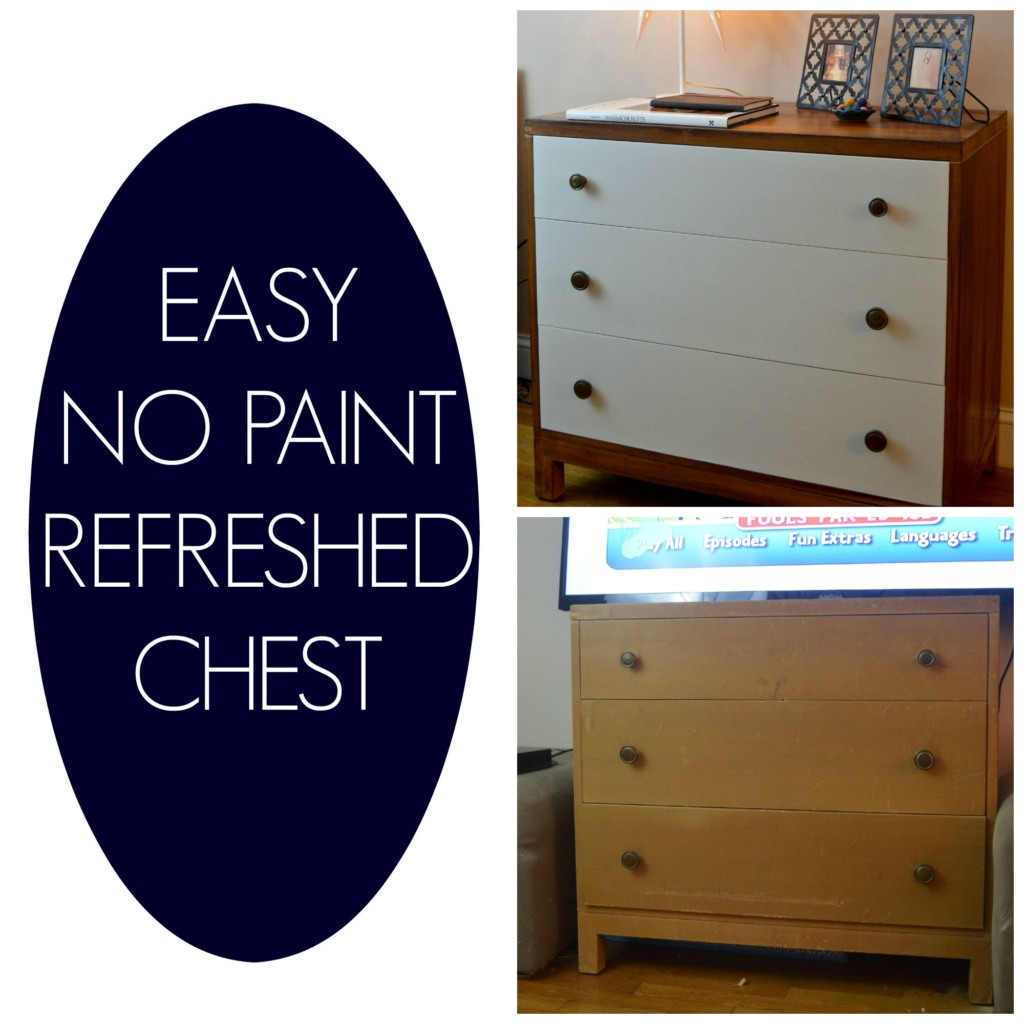 Refreshed Mid Century Chest