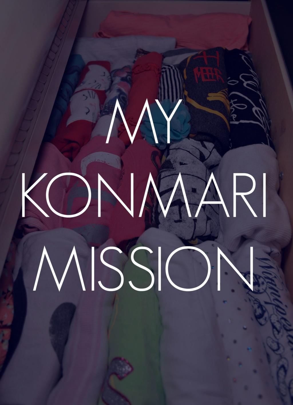 My Konmari Mission