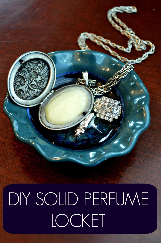DIY Solid Perfume Locket