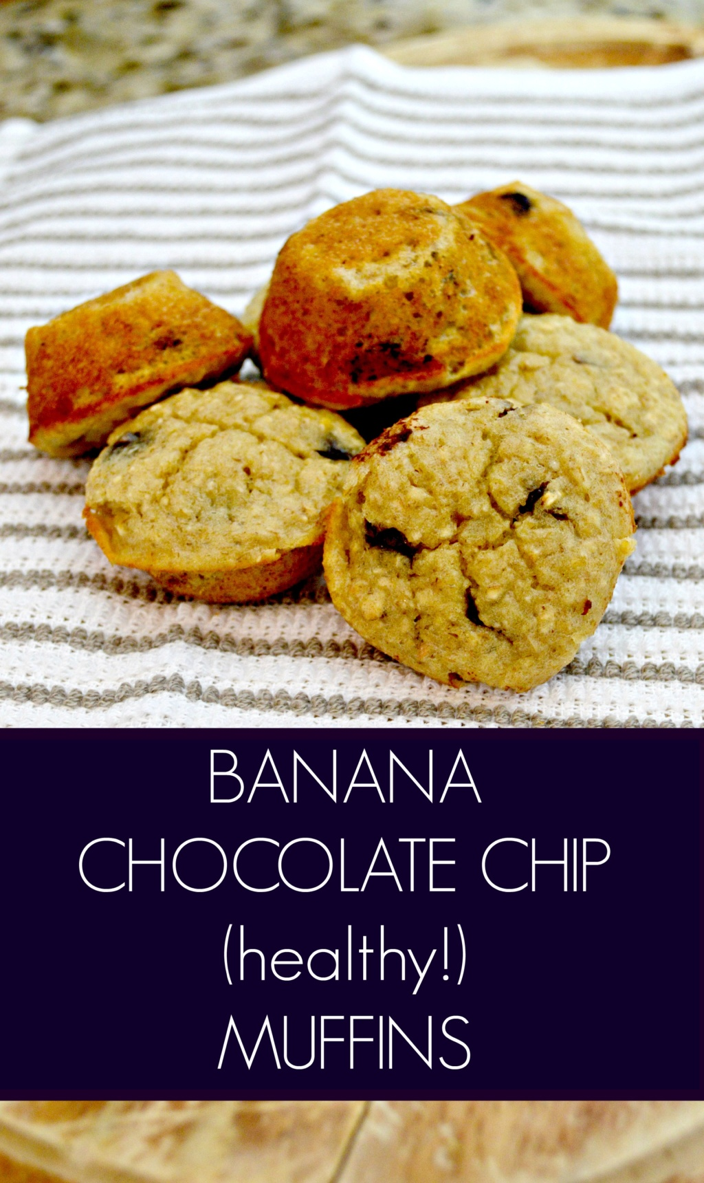 Bone Broth Update III – Healthy Banana Chocolate Chip Muffins