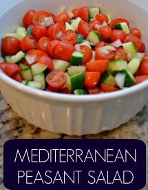 Mediterranean Peasant Salad