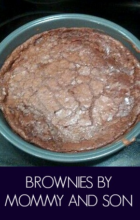 Brownies by Mommy and Son