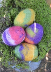 Felted Soap for Easter