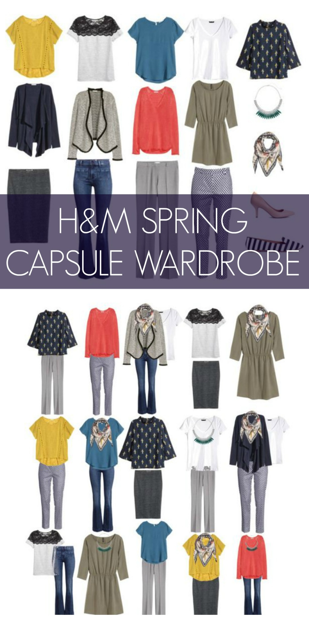 Spring Capsule Wardrobe From H&M