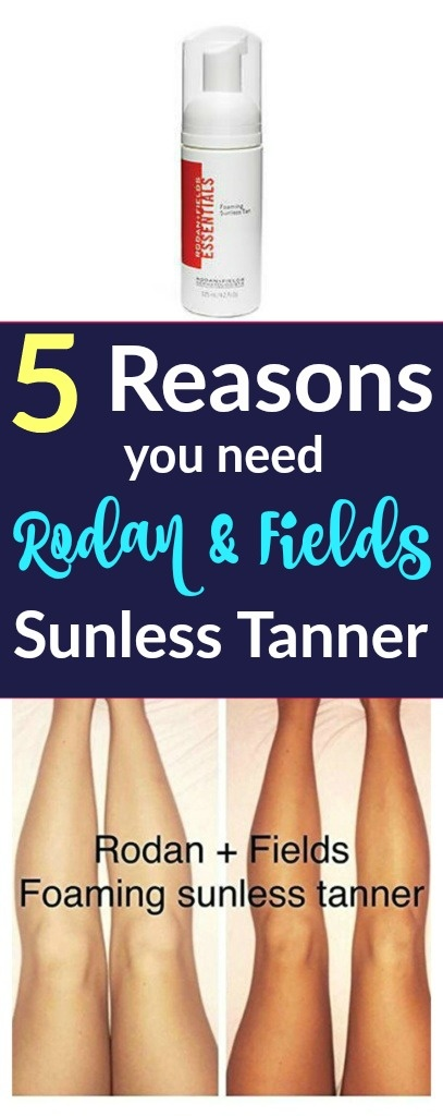 I've tried too many sunless tanners to count and Rodan & Fields is BY FAR my favorite!!