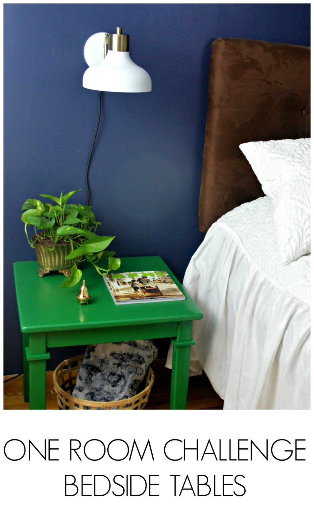 One Room Challenge Update – Bedside Tables