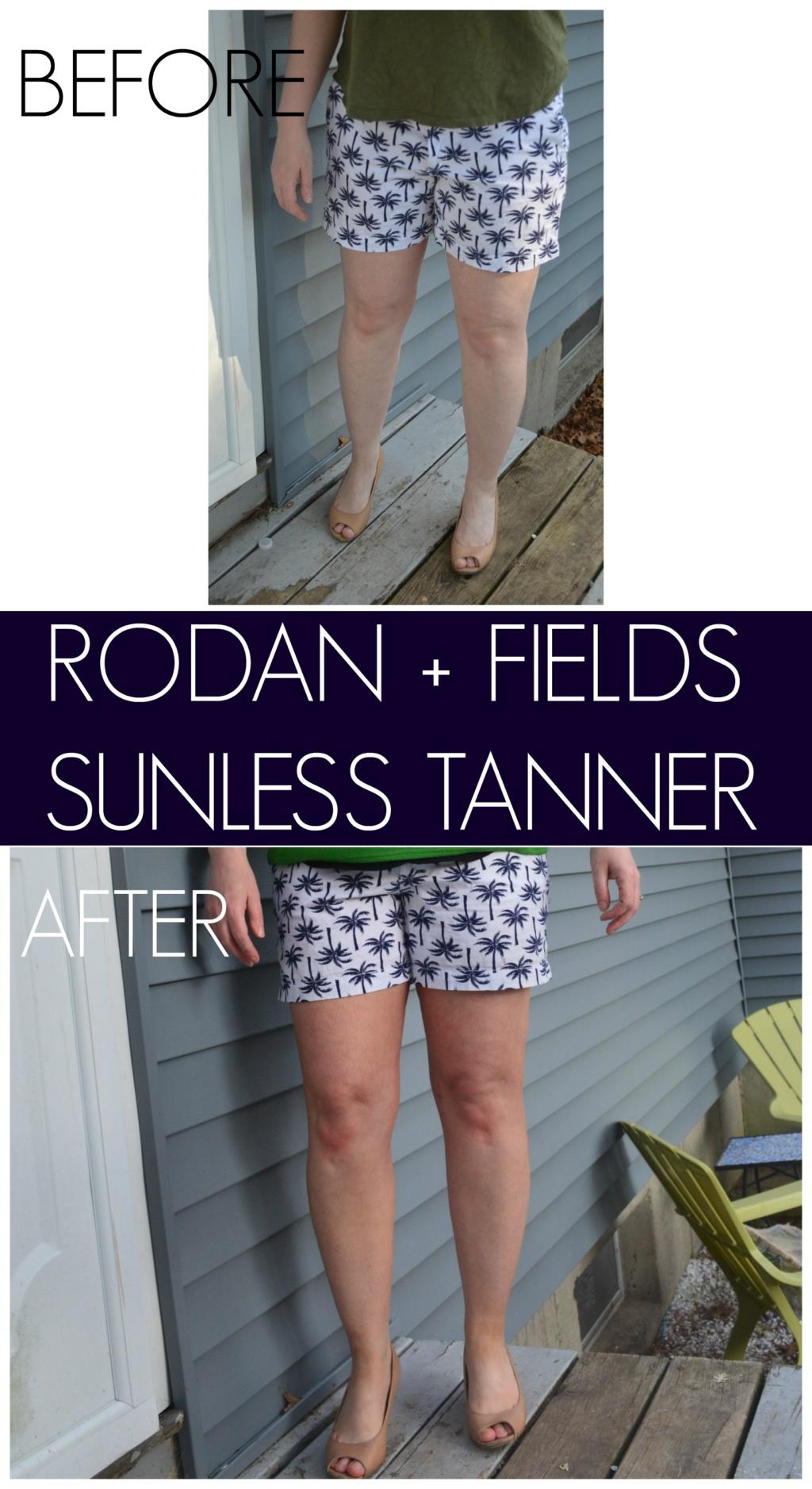 I Tried It – Rodan & Fields Sunless Tanner