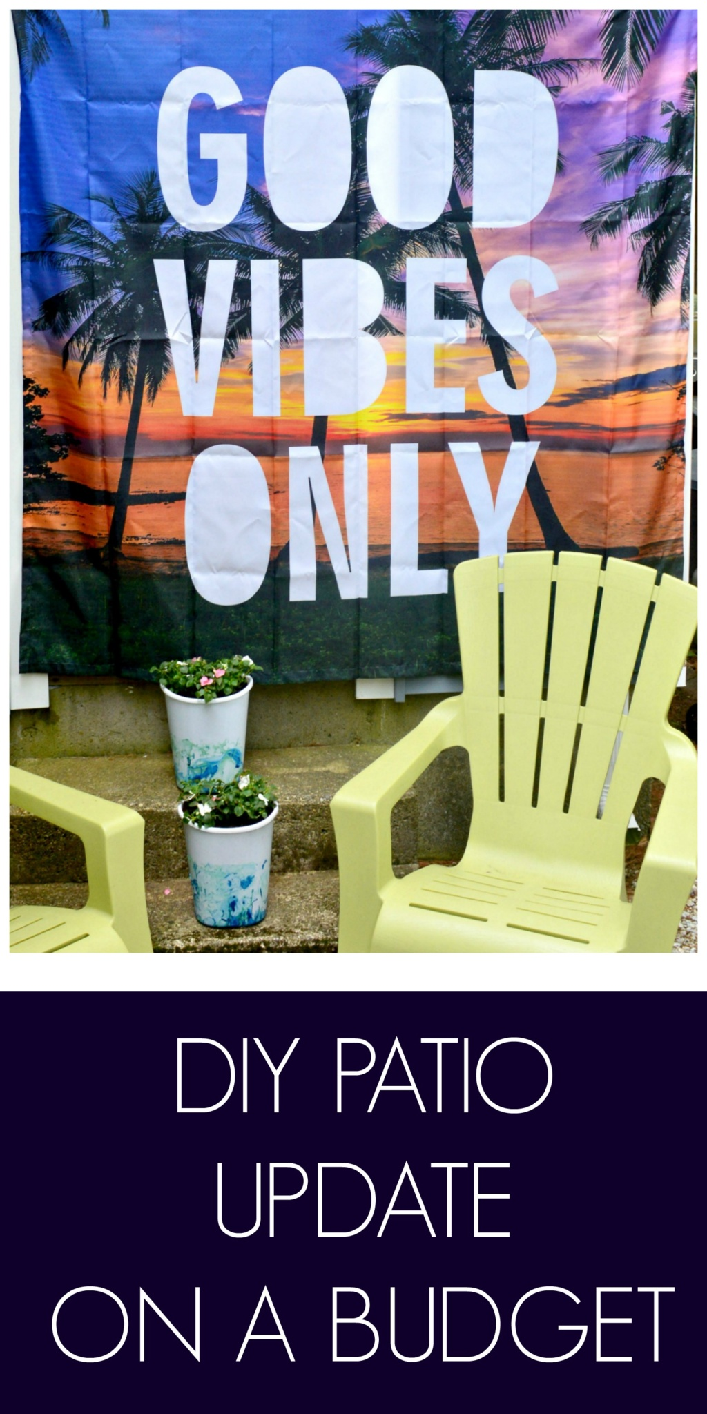 DIY Patio Update On a Budget
