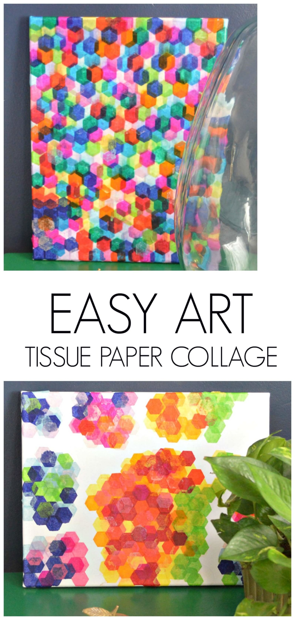 Easy Art – Tissue Paper Collage