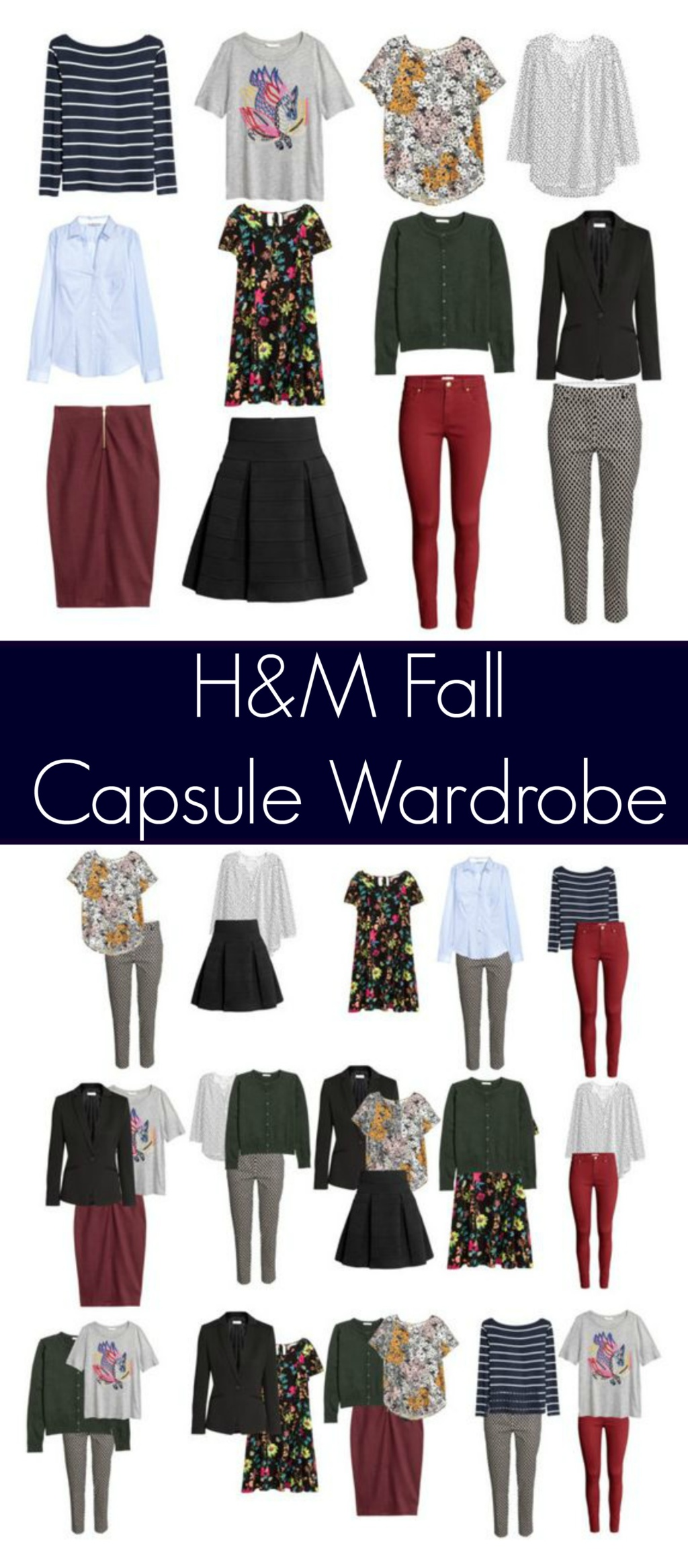 Fall Capsule Wardrobe from H&M