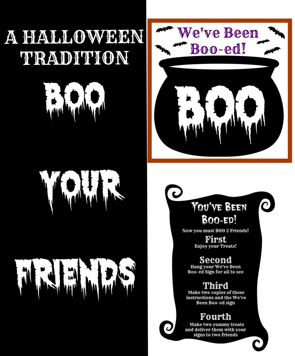 A Halloween Tradition – Boo-ing Your Friends