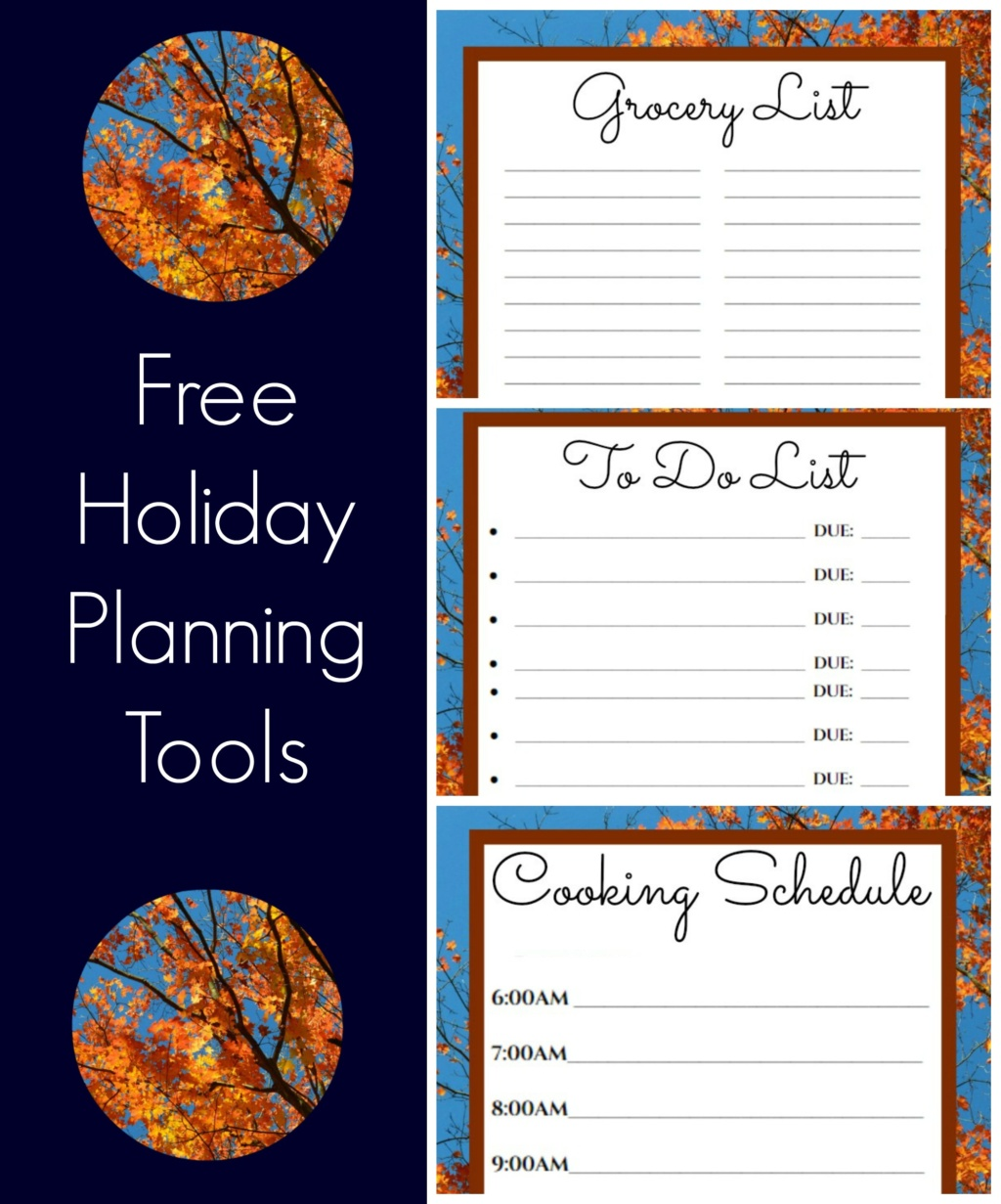Free Printables to Help you Prep Your Best Thanksgiving Ever