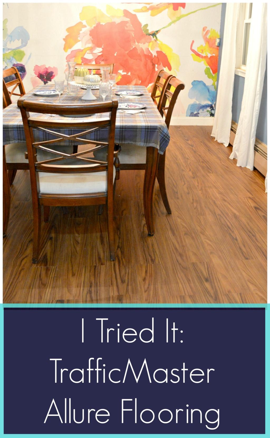I Tried It – TrafficMaster Allure Flooring