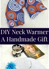 DIY Neck Warmer - A Handmade Gift
