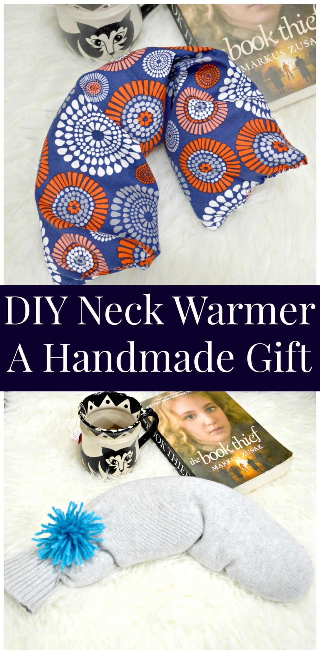 DIY Neck Warmer - A Handmade Gift