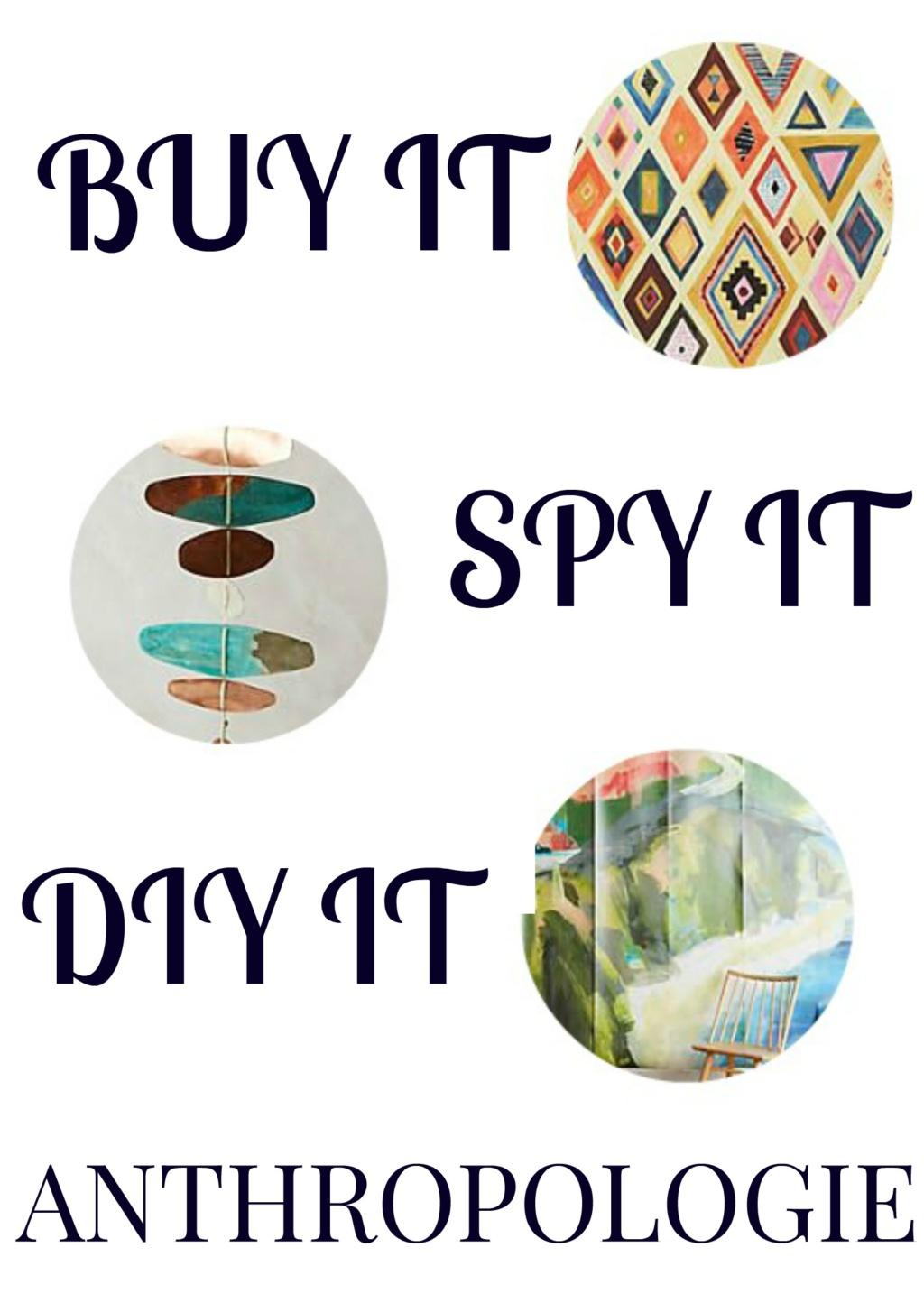 Buy It, Spy It or DIY It – Anthropologie Winter 2017