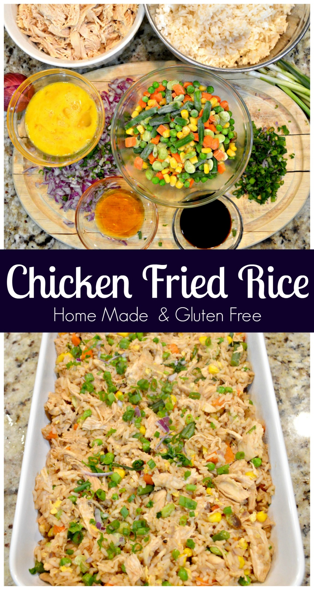 how to make chicken fried rice at home