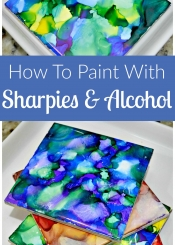 How to Paint with Sharpies and Alcohol 2