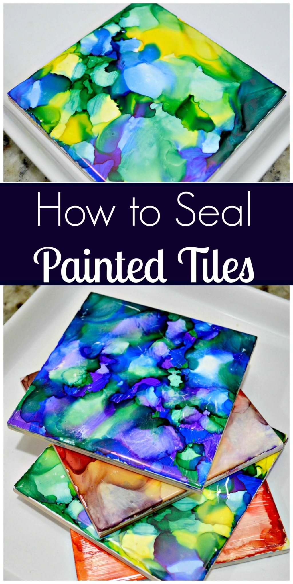 How to Seal Painted Tiles