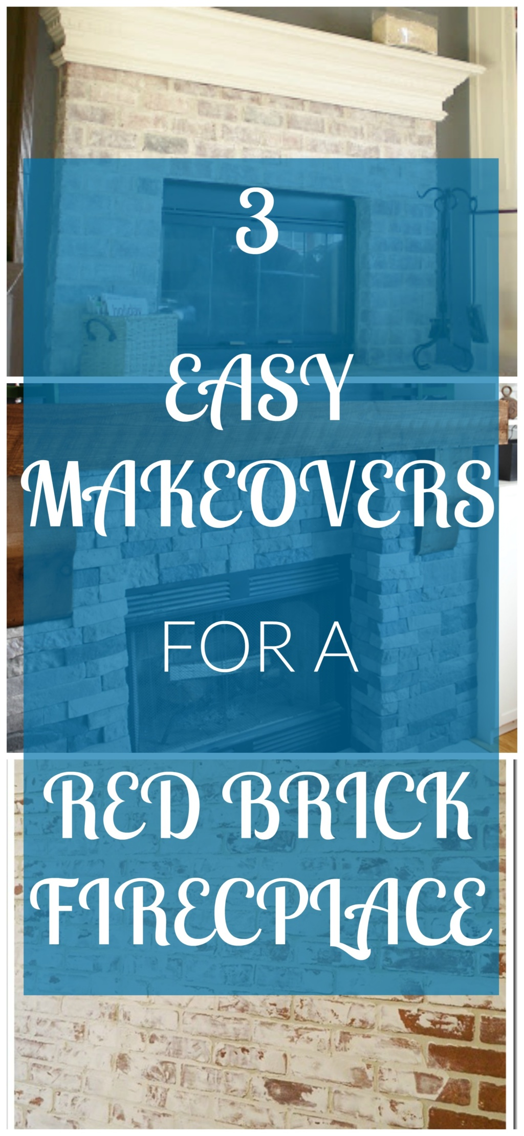3 Easy Fireplace Makeovers