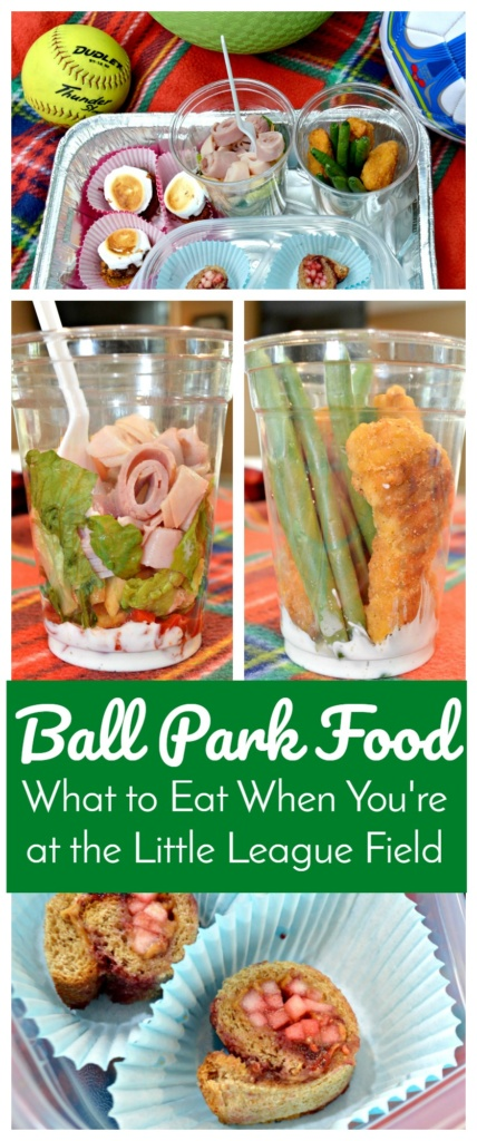 Ball Park Food - What to Eat When You're at the Little League Field