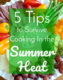 How to Survive Cooking in the Summer