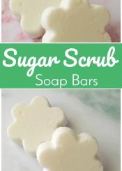 Sugar Scrub Soap Bars