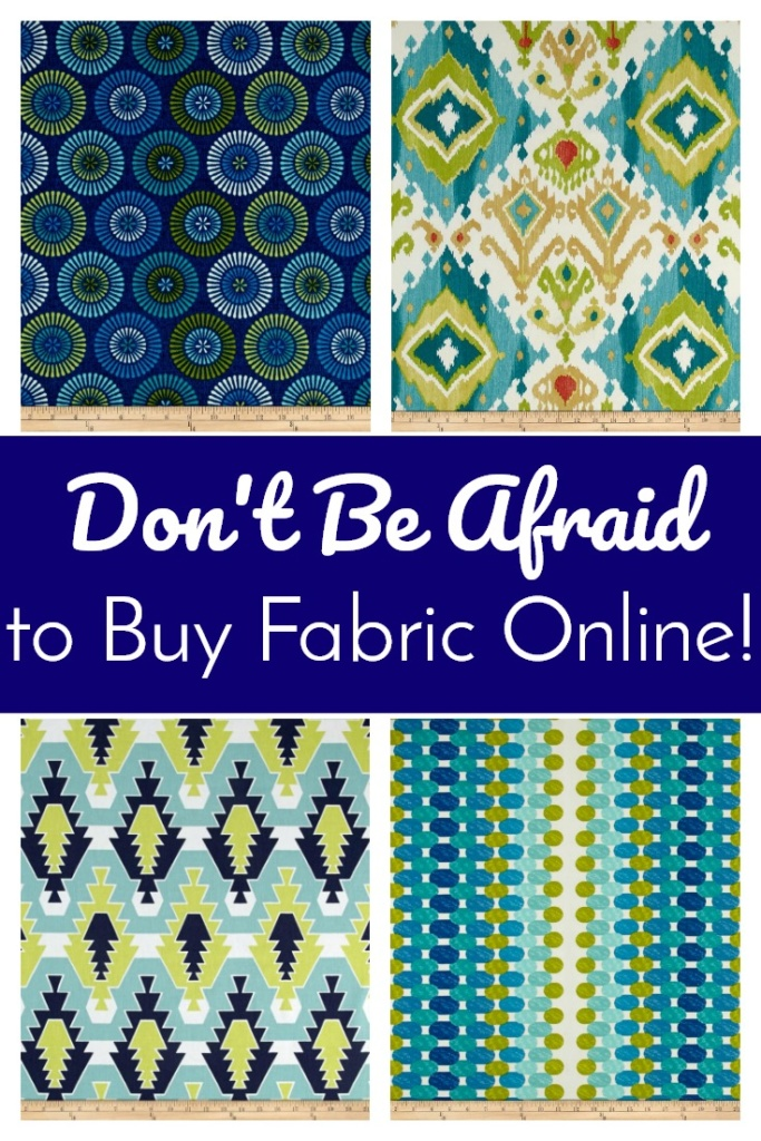 Don't Be Afraid to Buy Fabric Online! It's foolproof with Fabric.com!