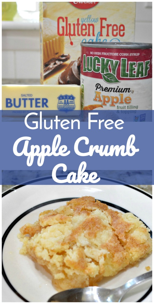 Please Help! This un-photogenic gluten free apple crumb is totally delicious! Help share it with the world and pin it to your favorite boards!