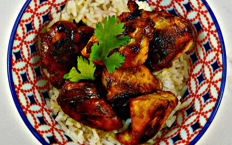 Honey & Soy Marinated Chicken Tips