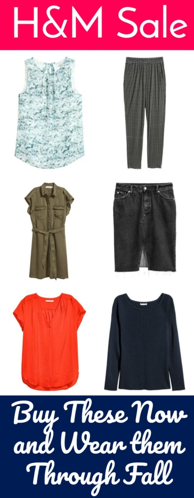 H&M Sale - Buy These Now and Wear Them Through Fall