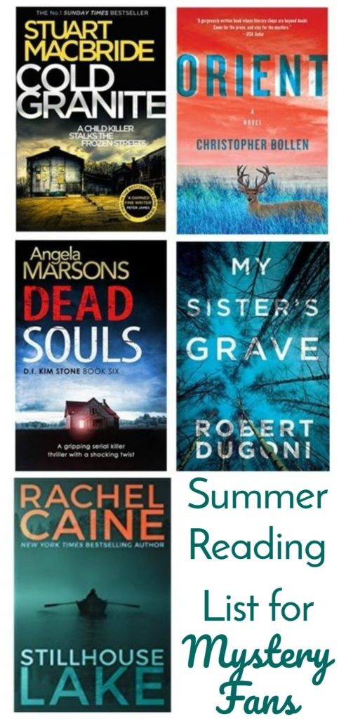 Summer Reading List for Mystery Fans