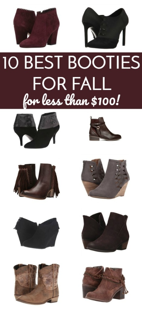 10 Best Booties for Fall - Under $100