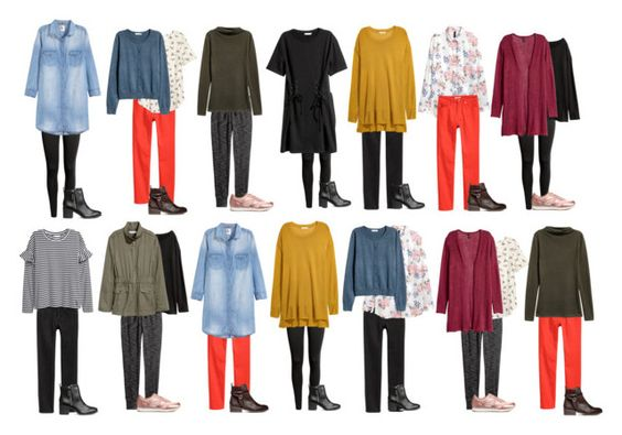 H&M Fall Capsule Wardrobe